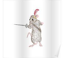Narnia Reepicheep, the bravest of mice Poster