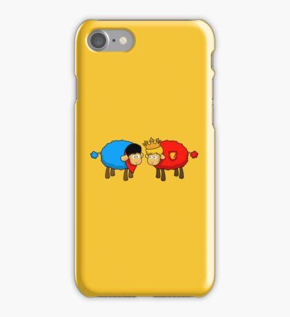Merlin and Arthur Sheep Edition iPhone Case/Skin