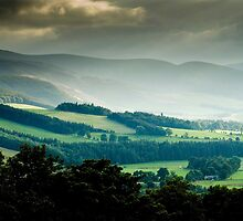 Glentress, Near Pebbles, Scottish Borders, Sept 2007 by Iain MacLean