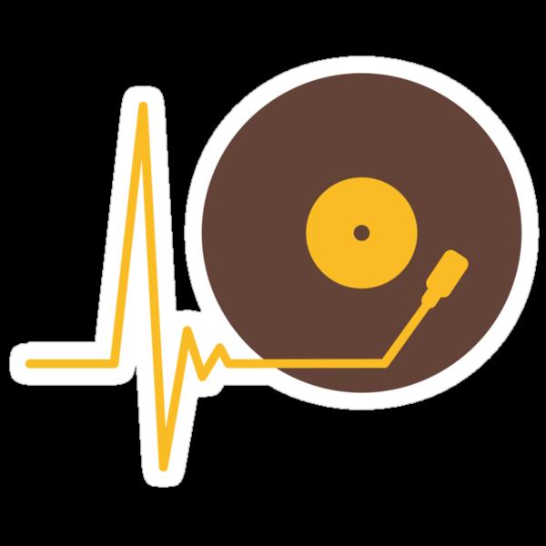 Music Pulse DJ Vinyl by Style-O-Mat