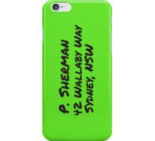 P. Sherman Wallaby Way iPhone Case/Skin