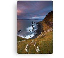 The Edge of Skye Canvas Print