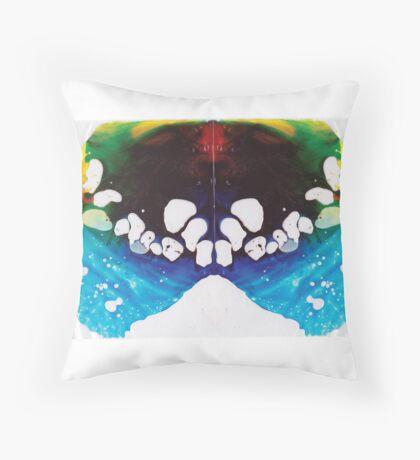 Ink Blot #1 Throw Pillow