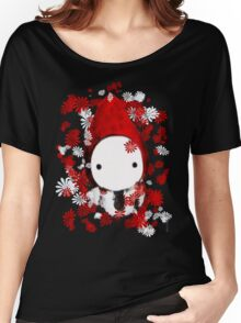 Poppet and Flowers Women's Relaxed Fit T-Shirt