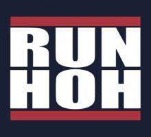 RUN H.O.H. - RUN DMC Style Logo by PakuPakuMedia
