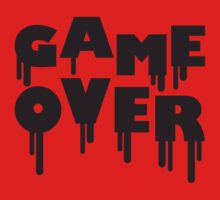 Game Over Graffiti Stamp by Style-O-Mat