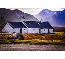 Blackrock Cottage - Glen Coe Photographic Print