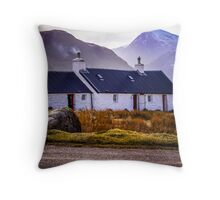 Blackrock Cottage - Glen Coe Throw Pillow