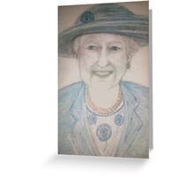 The Queen Greeting Card