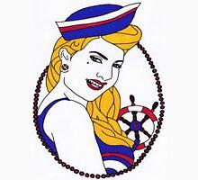 sailor girl pin up Unisex T-Shirt