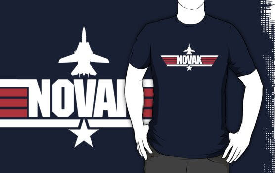 Custom Top Gun Style - Novak by CallsignShirts