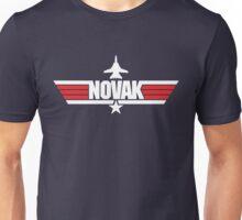Custom Top Gun Style - Novak Unisex T-Shirt