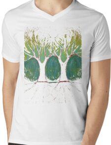 Two Worlds Mens V-Neck T-Shirt