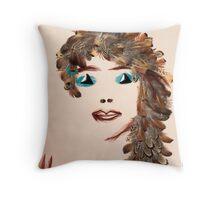Natasha's self-portrait Throw Pillow