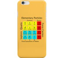 Elementary Particles iPhone Case/Skin