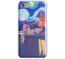 starry night at Regensburg iPhone Case/Skin