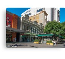 Rundle Mall - Old and New buildings  Canvas Print