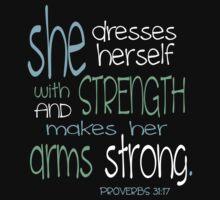 Proverbs 31 Workout Shirt by Adaline Kendrick