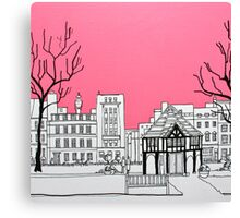 Soho Square Canvas Print