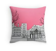 Soho Square Throw Pillow