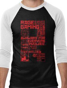 Rage Medley - Red Men's Baseball ¾ T-Shirt