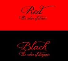 Red and Black by trilac