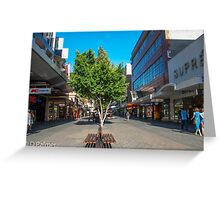 Rundle Mall - Down the Centre  Greeting Card