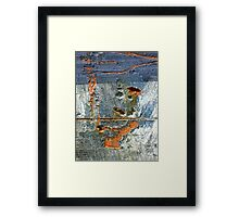The Man With the Tam Framed Print
