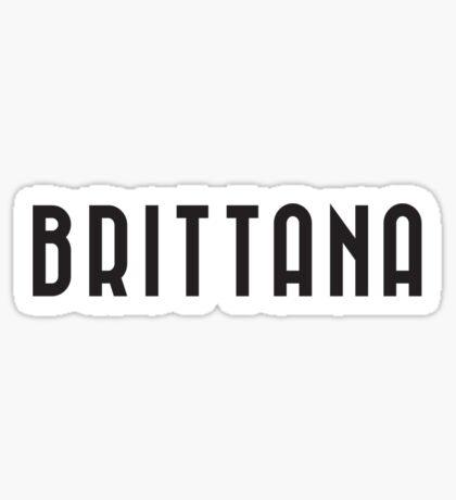 Brittana Sticker