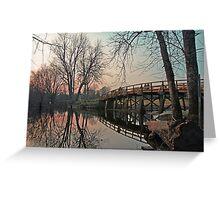 Rude Bridge Lexington Greeting Card