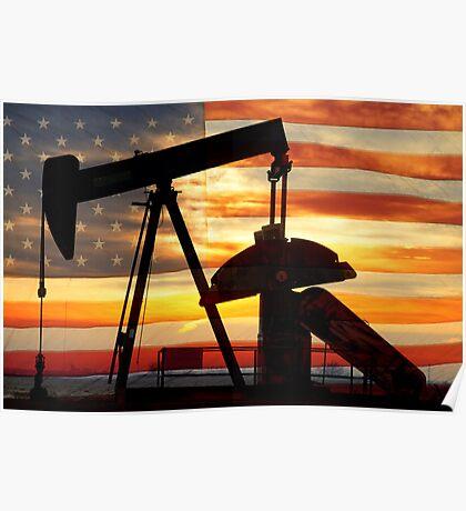 American Oil  Poster