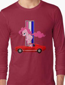 Mustang Pinkie Pie  Long Sleeve T-Shirt