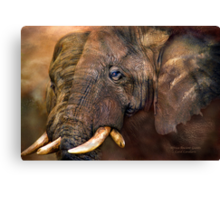 Africa - Ancient Giants Canvas Print