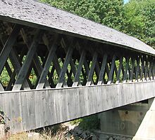 Keniston Covered Bridge NH by Ren Provo
