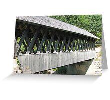 Keniston Covered Bridge NH Greeting Card