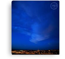 ©HCS Blue Genius Canvas Print
