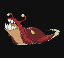 Toothy Slug - Red by excess-0