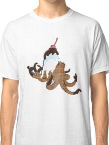 Ice Cream Octopus Classic T-Shirt