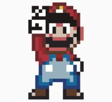 16-bit Pixel Mario by csyz ★ $1.49 stickers