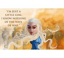 Daenerys Targaryen Photographic Print