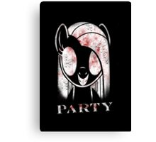 "Pinkamena ""Party"" Canvas Print"