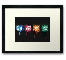 Zombies Perks Framed Print