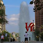 Love Park Philly by Ren Provo