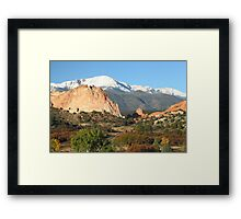 Go West, Young Man Framed Print