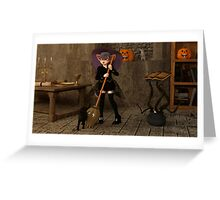 Halloween - The Life of a Witch Greeting Card