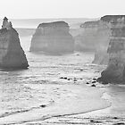 Apostles Cliffline by Garth Smith