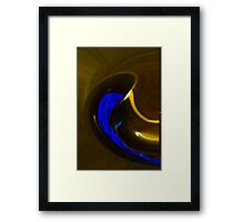 Pouring Out The Blues Framed Print
