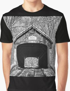 Rural Winter Graphic T-Shirt