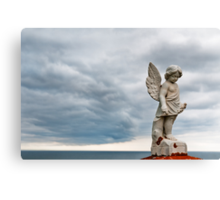 Storm angel Canvas Print