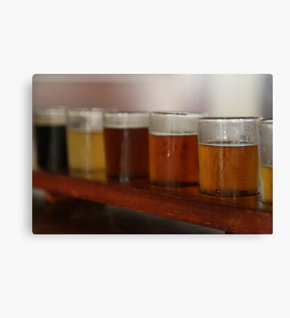 Melbourne Beer Sampler Canvas Print